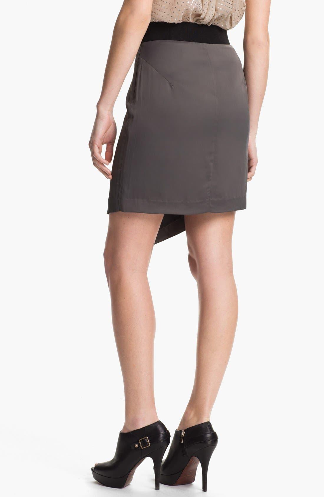 Alternate Image 2  - Milly 'Barcelona' Zip Skirt