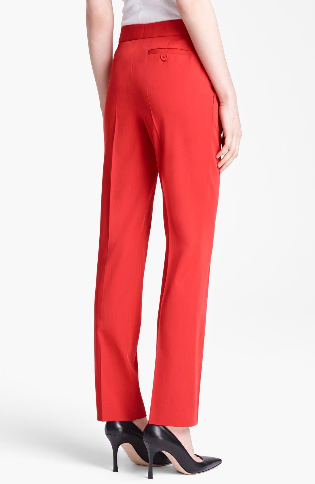 Alternate Image 2  - Moschino Cheap & Chic Wool Gabardine Trousers