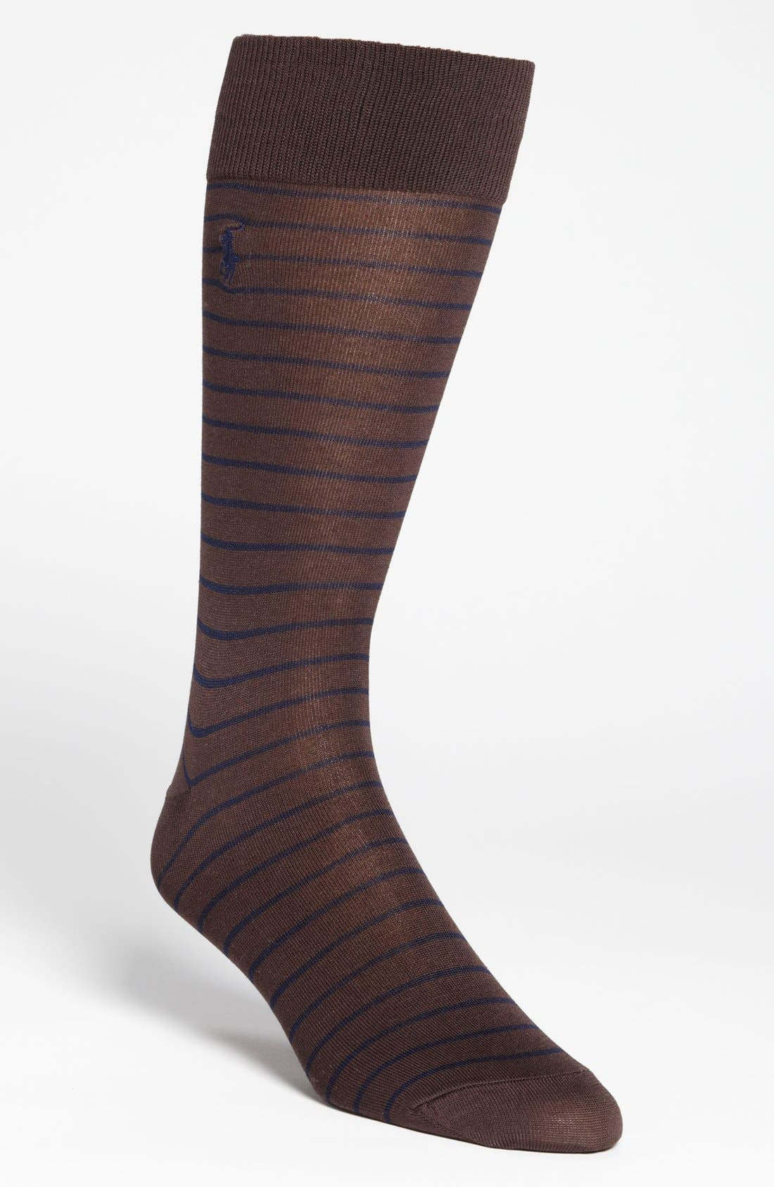 Main Image - Polo Ralph Lauren Stripe Socks