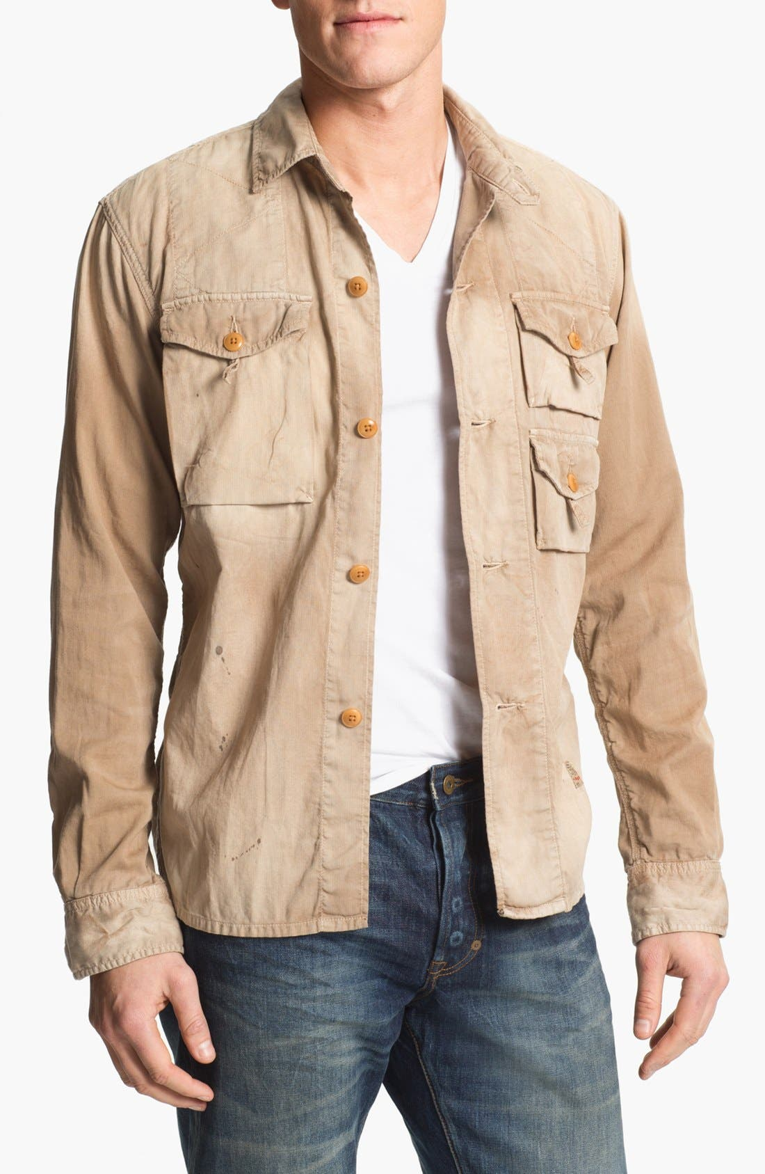 Alternate Image 1 Selected - PRPS Bedford Corduroy Shirt