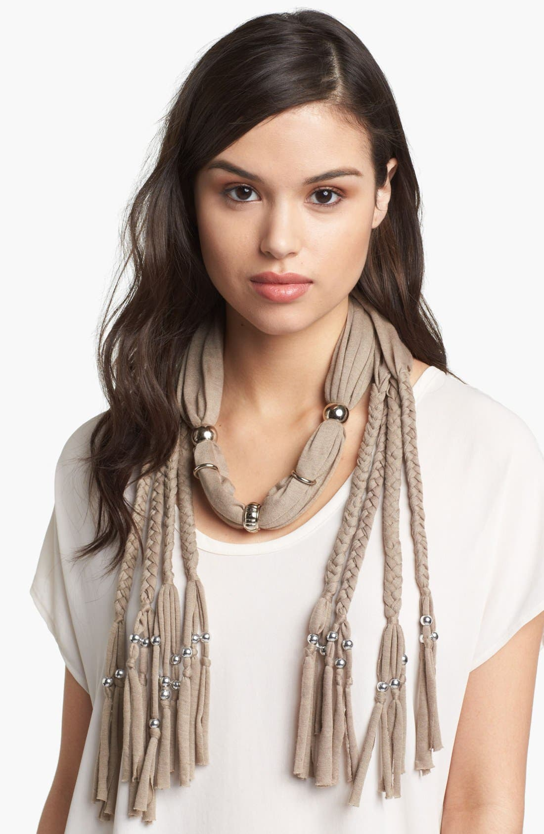 Alternate Image 1 Selected - BLUE HARLOW Braided Scarf