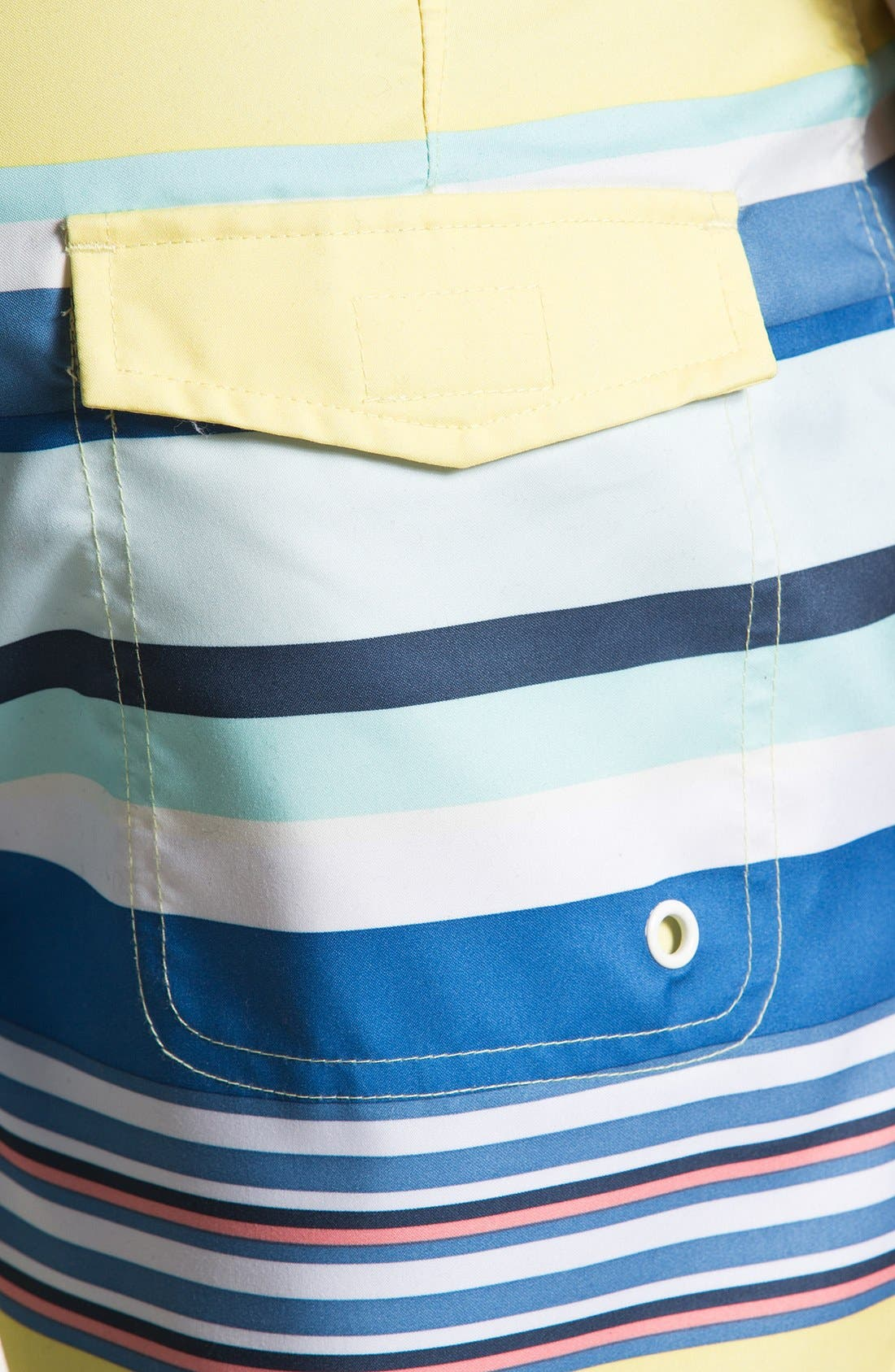 Alternate Image 3  - Original Penguin Stripe Print Swim Shorts
