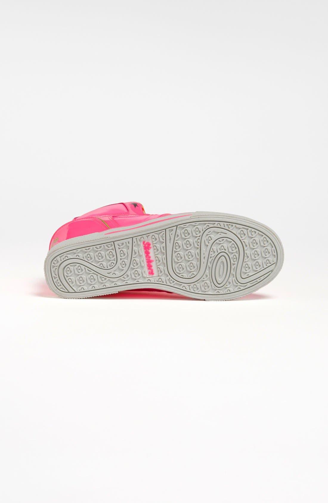 Alternate Image 4  - SKECHERS 'Hydee Hytop Cha-Ching' Sneaker (Toddler, Little Kid & Big Kid)