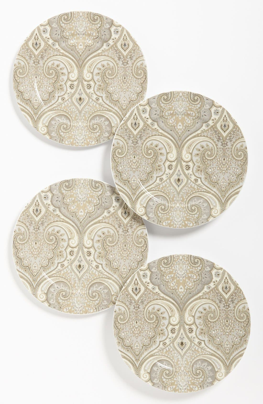 Main Image - Echo 'Latika - Driftwood' Salad Plates (Set of 4)