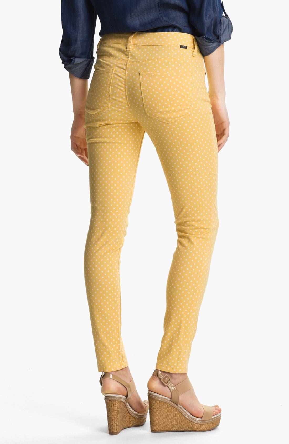 Alternate Image 2  - Jag Jeans 'Chloe' Skinny Twill Pants (Petite)