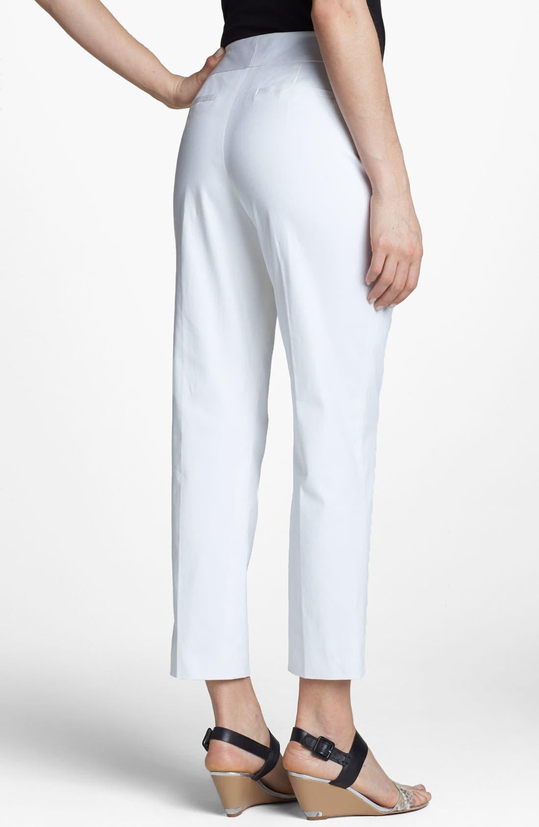 Alternate Image 2  - Classiques Entier® 'New Chicca' Ankle Pants