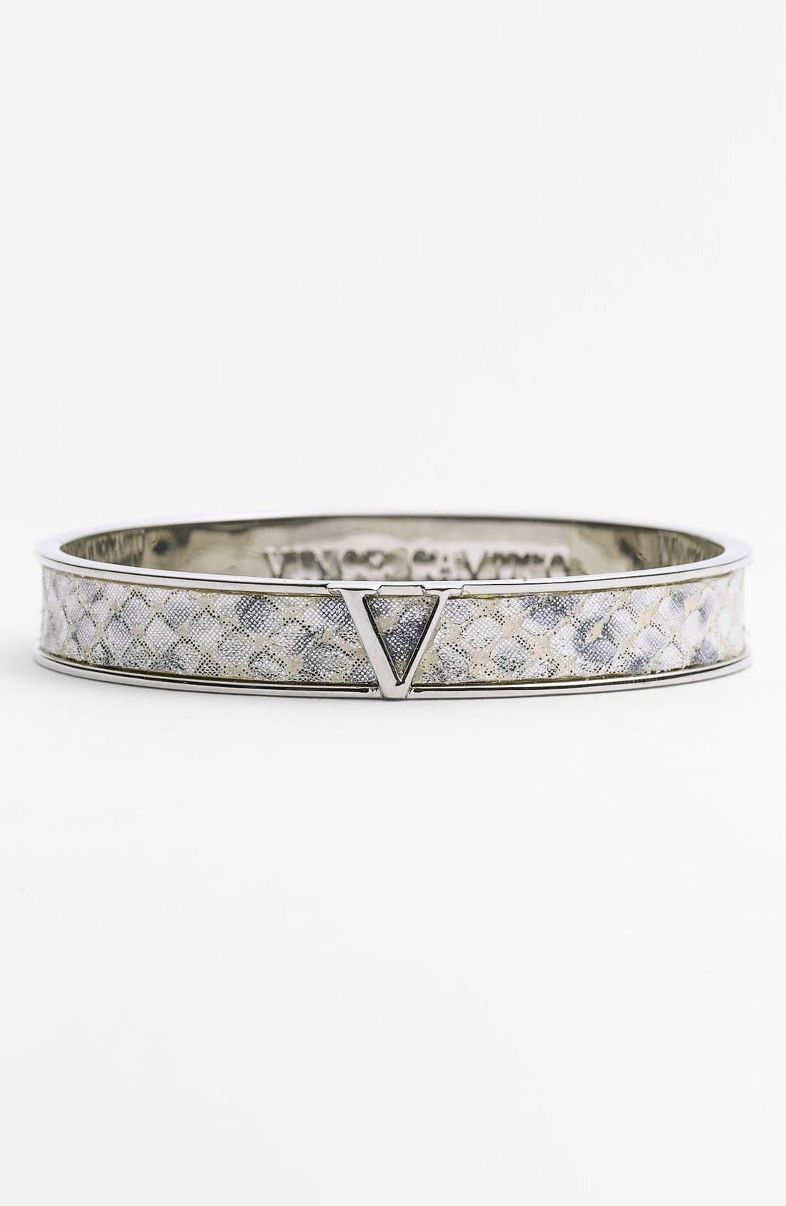 Alternate Image 1 Selected - Vince Camuto Leather Bangle