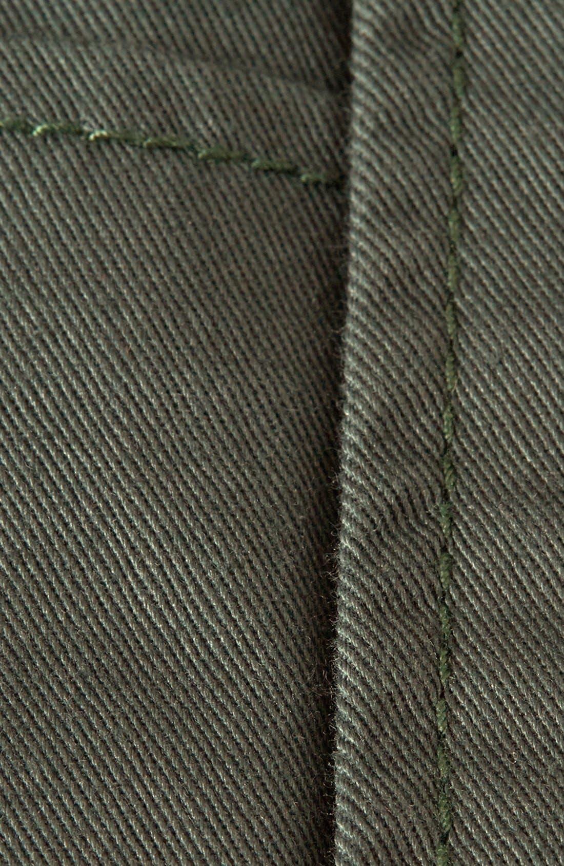 Alternate Image 3  - Topman Cotton Shorts