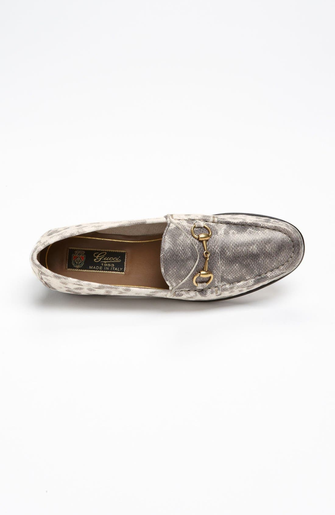 Alternate Image 3  - Gucci Horse Bit Moccasin