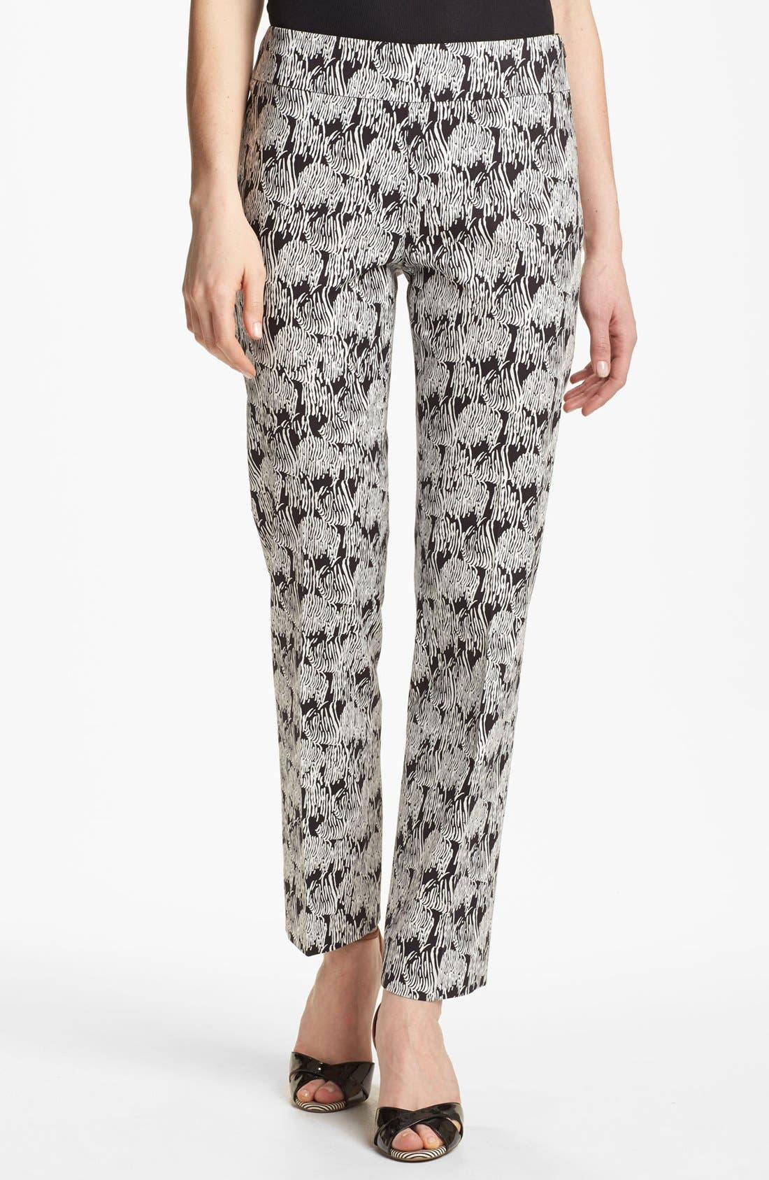 Alternate Image 1 Selected - Nic + Zoe 'Sea Surf' Print Pants