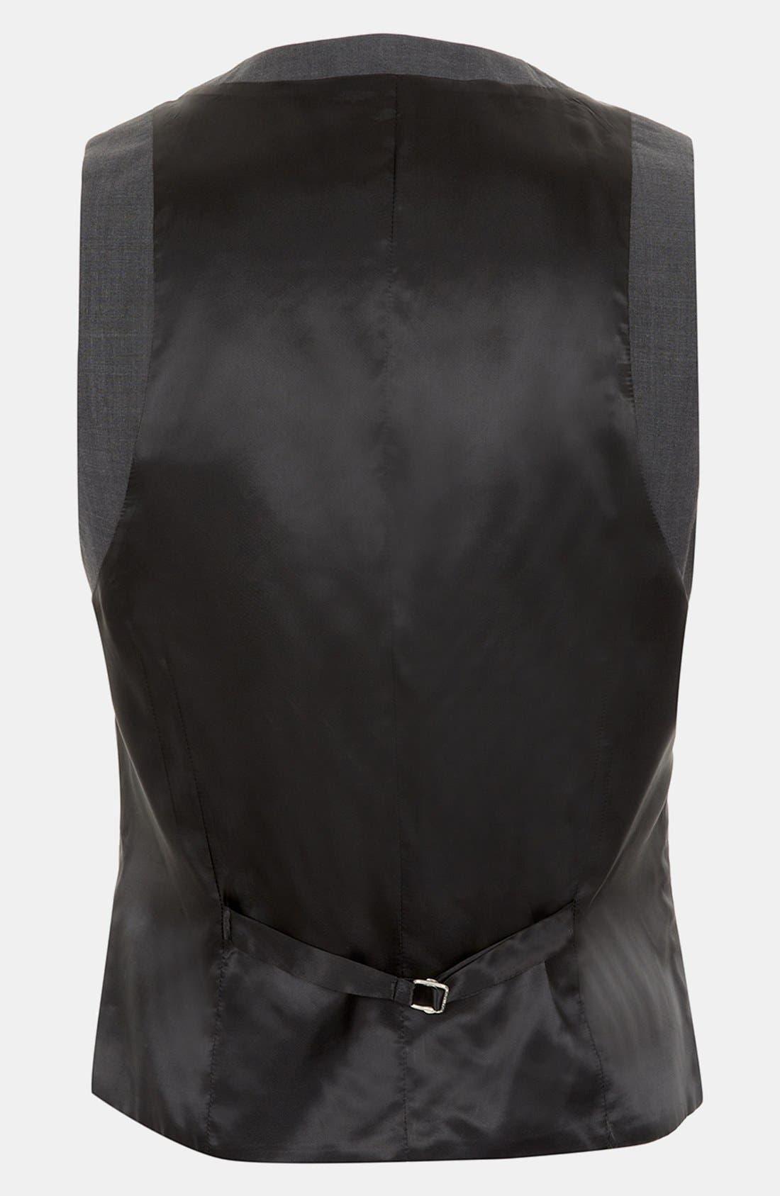 Alternate Image 2  - Topman Skinny Fit Vest