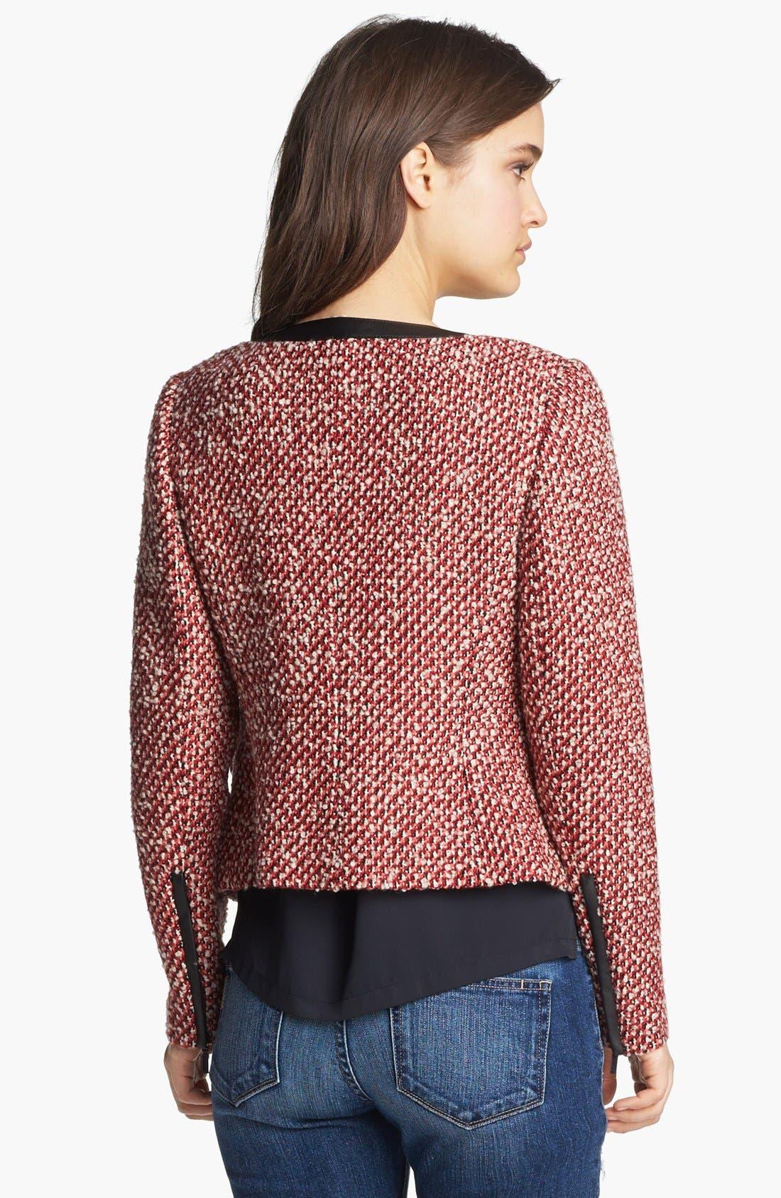 Alternate Image 2  - Hinge® Tweed Jacket