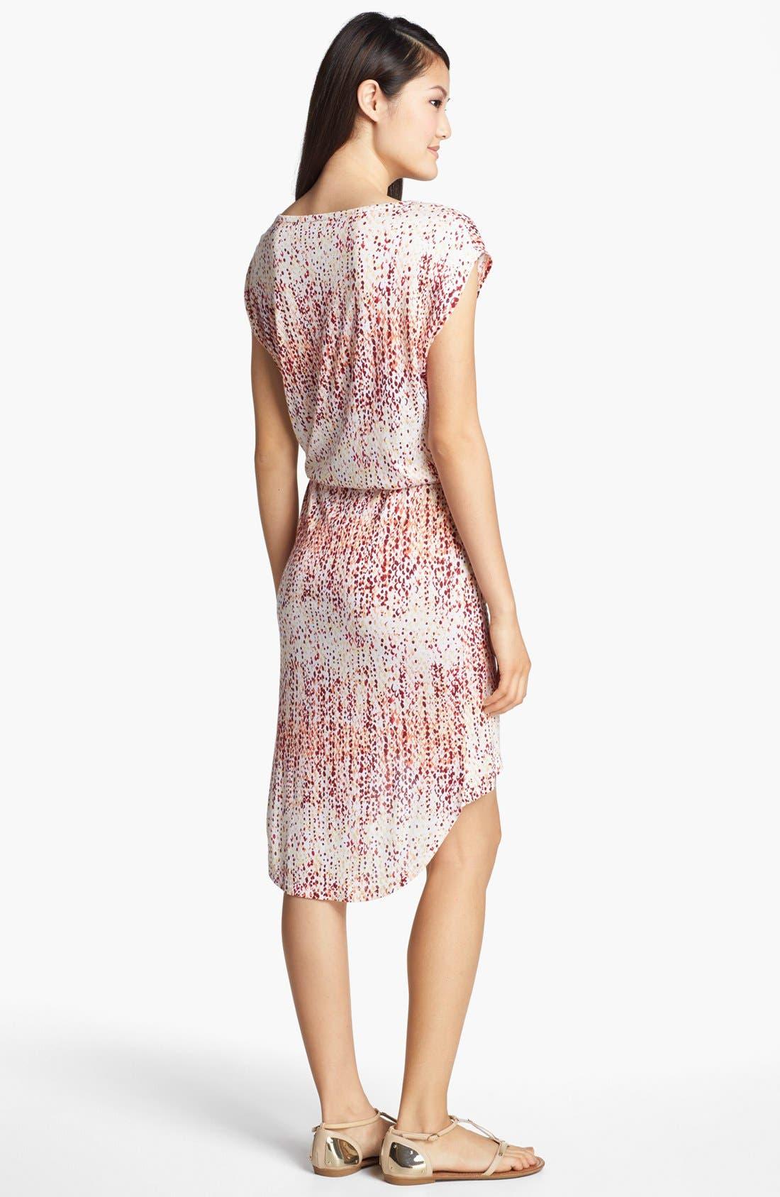 Alternate Image 2  - Loveappella High/Low Dress (Petite)
