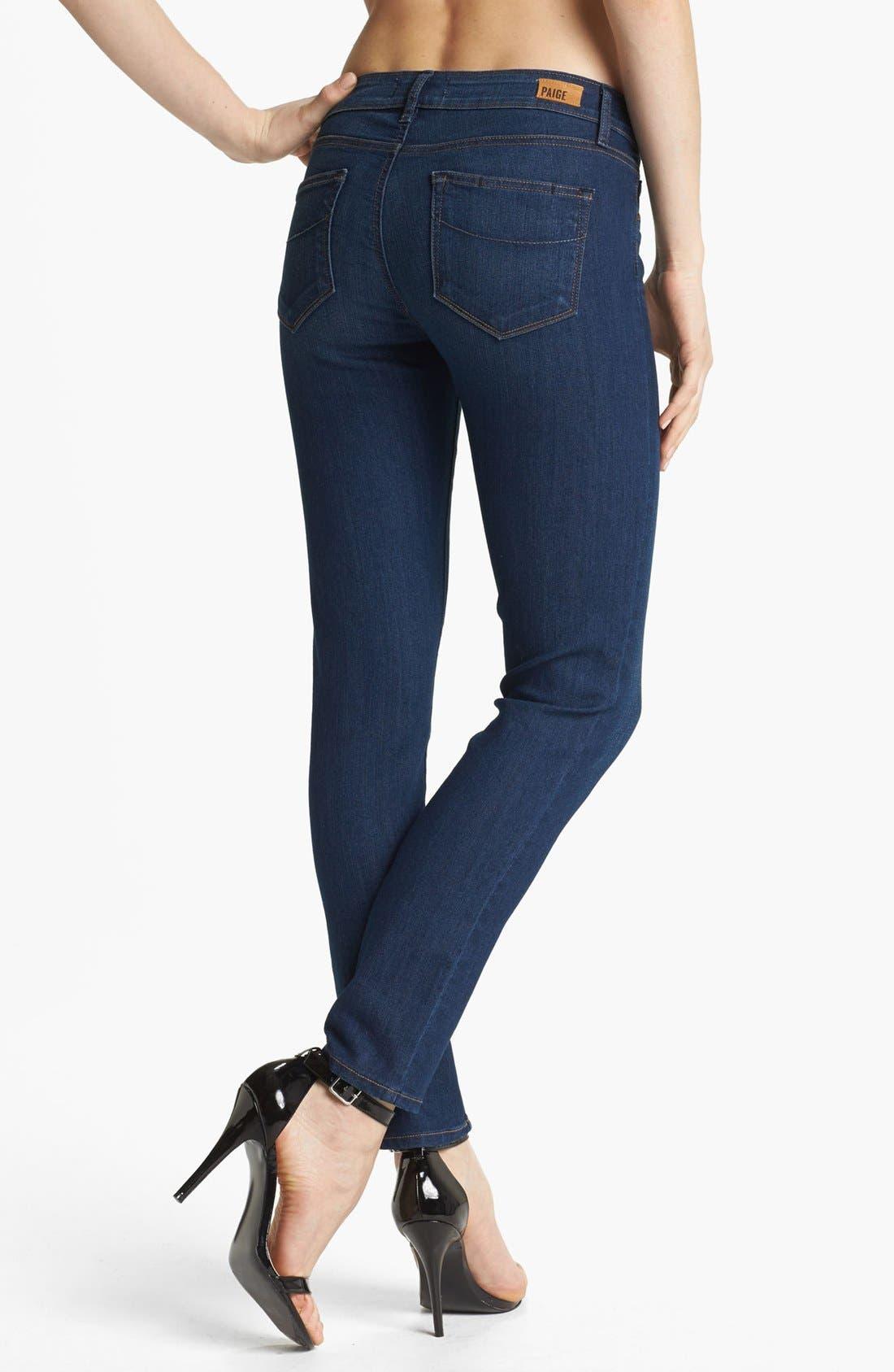 Alternate Image 2  - Paige Denim 'Skyline' Ankle Jeans (Libby)