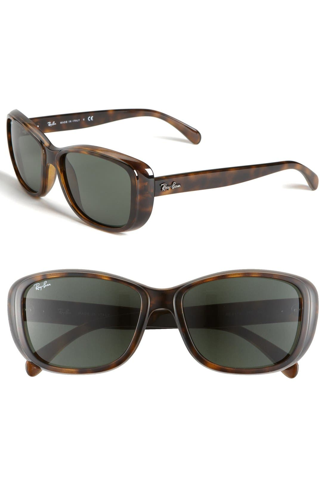 Alternate Image 1 Selected - Ray-Ban 'Classic' 56mm Polarized Sunglasses