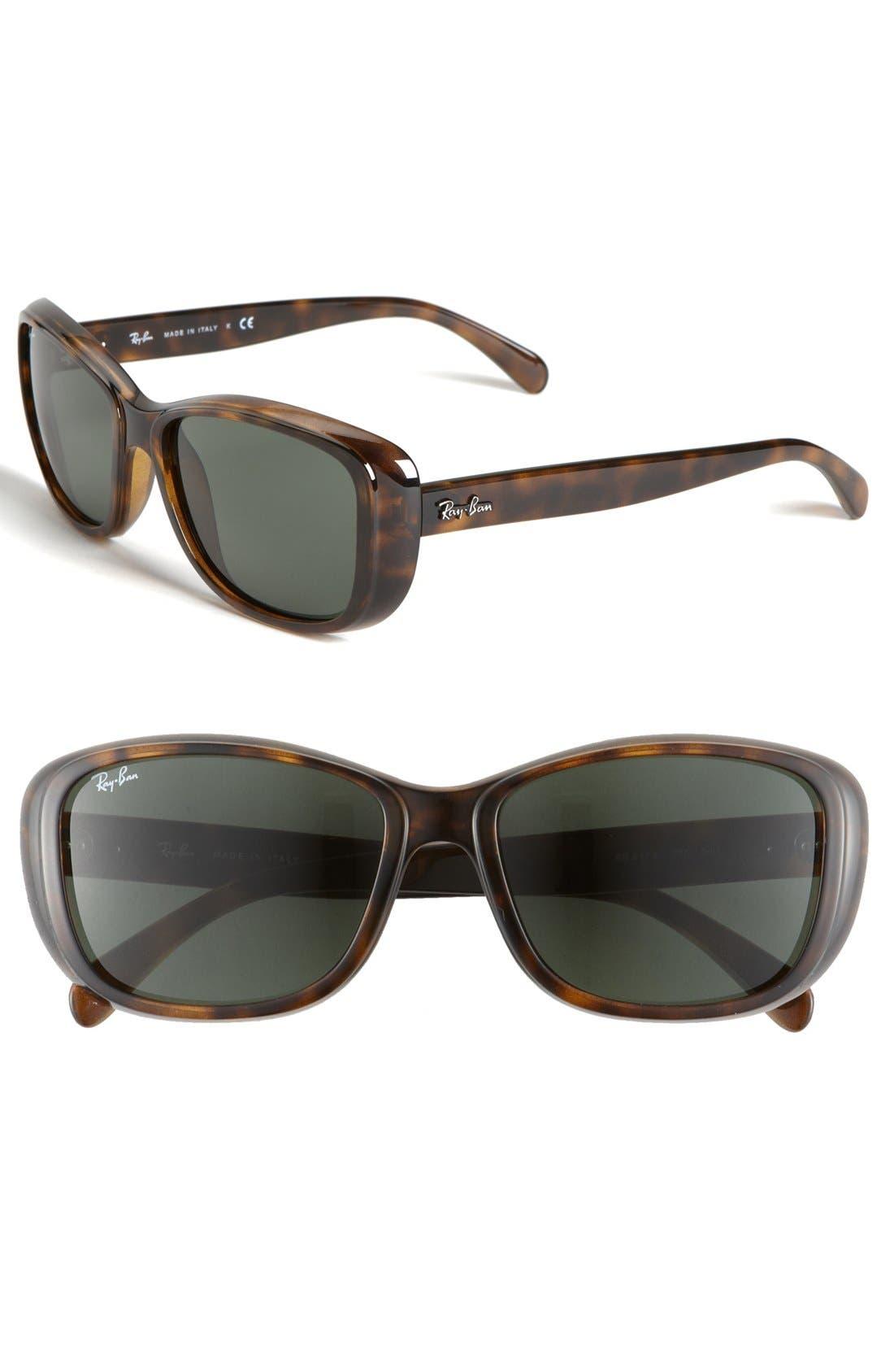 Main Image - Ray-Ban 'Classic' 56mm Polarized Sunglasses