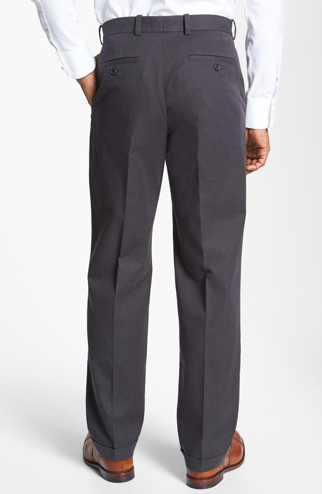 Alternate Image 2  - John W. Nordstrom® Pleated Pants