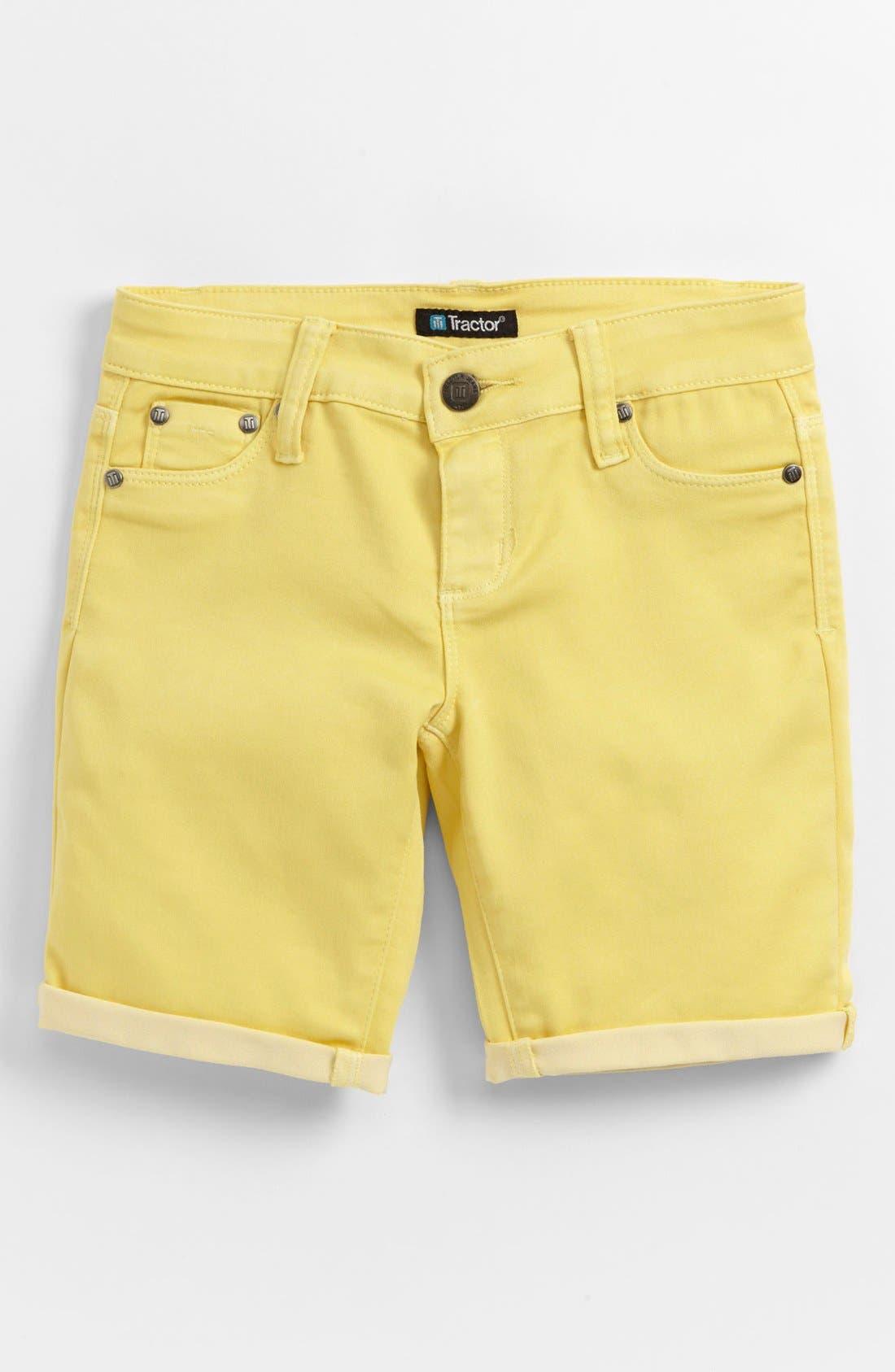 Alternate Image 1 Selected - Tractr Bermuda Shorts (Little Girls & Big Girls)
