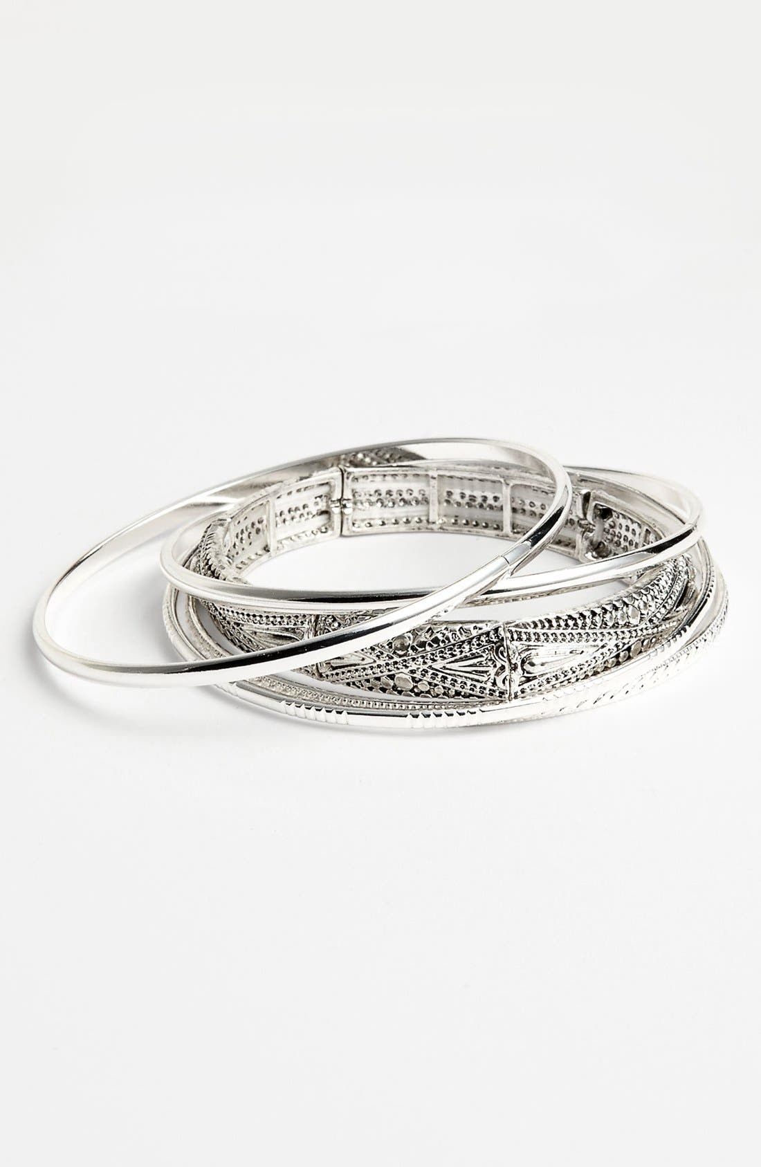 Alternate Image 1 Selected - Carole Bangles (Set of 5) (Juniors)