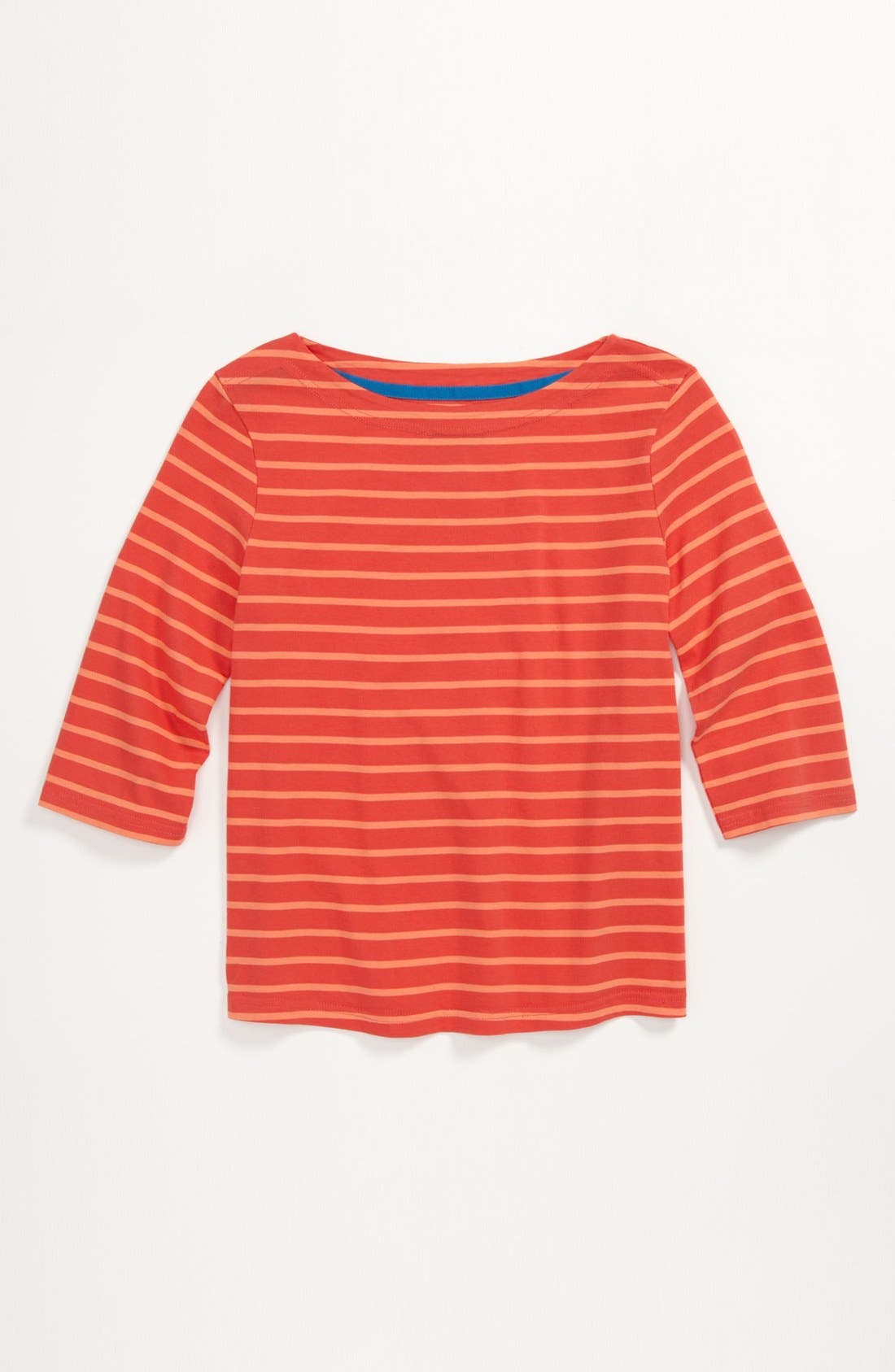 Alternate Image 1 Selected - Johnnie b 'Stripy Boatneck' Tee (Big Girls)