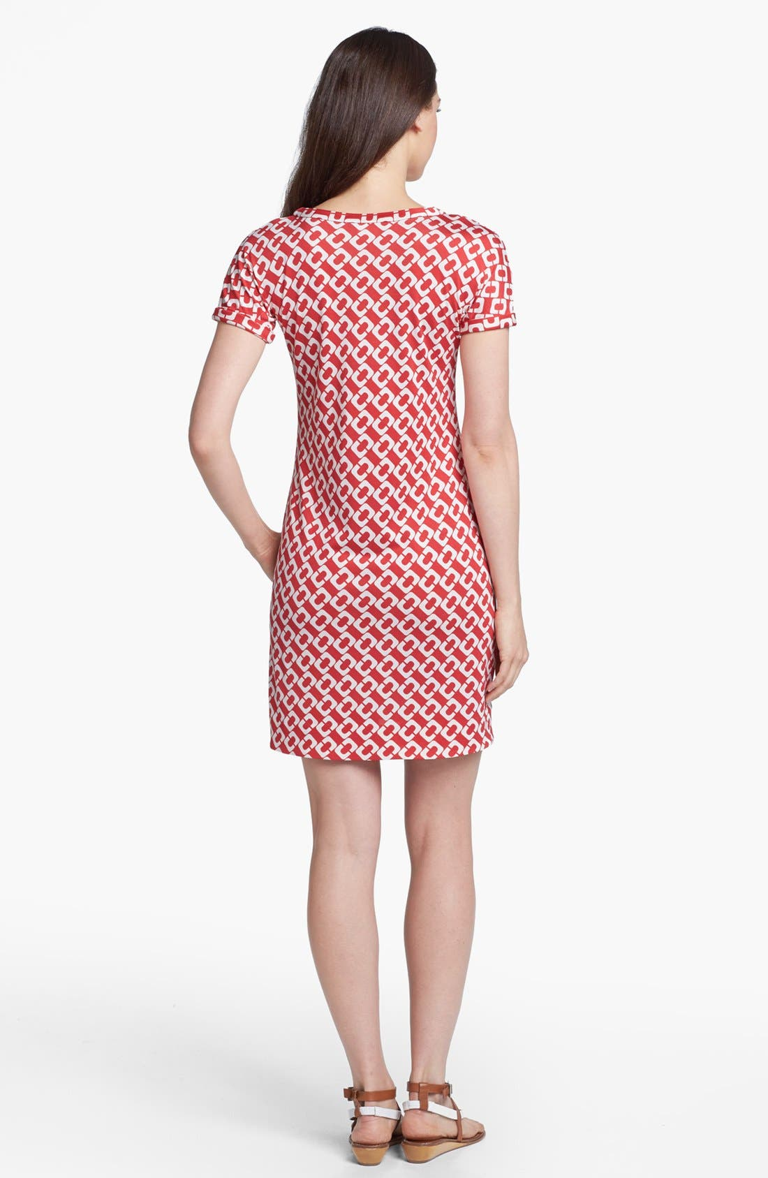 Alternate Image 2  - Diane von Furstenberg 'Beth' Silk Shift Dress
