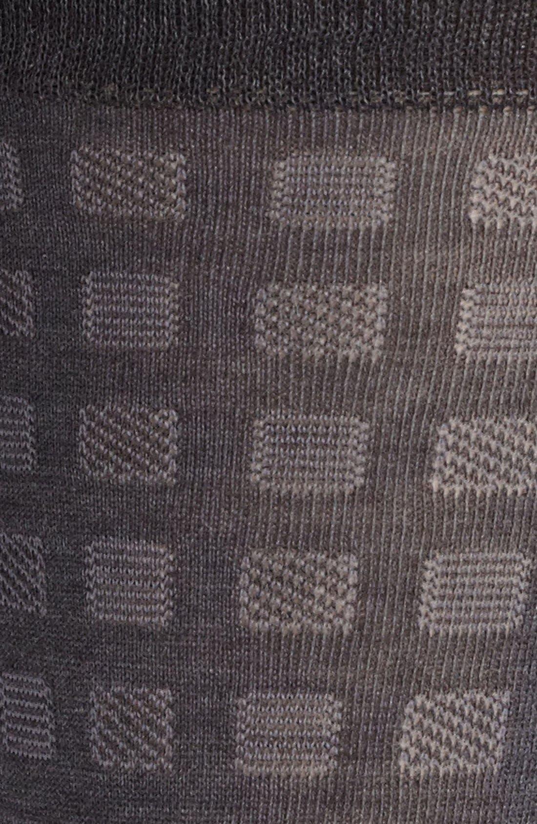 Alternate Image 2  - John W. Nordstrom® Geometric Print Socks