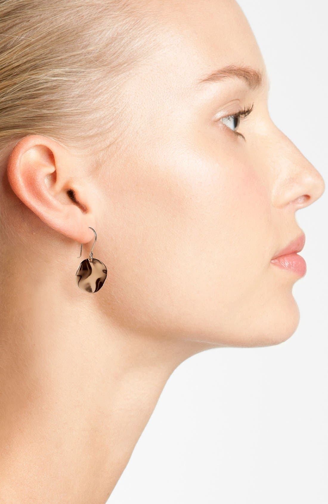 Alternate Image 2  - Ippolita 'Carino' Rosé Wavy Drop Earrings