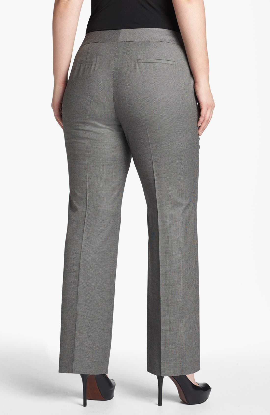 Alternate Image 2  - Sejour 'Marcy' Suit Trousers (Plus Size)