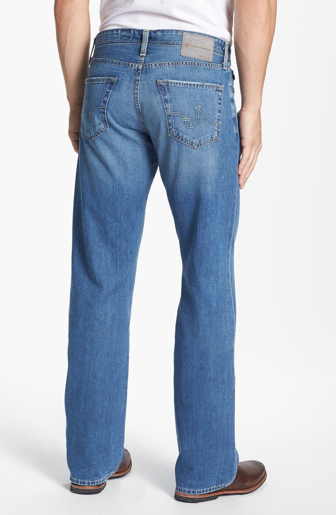 Alternate Image 2  - AG Jeans 'Hero' Relaxed Leg Jeans (Degree)