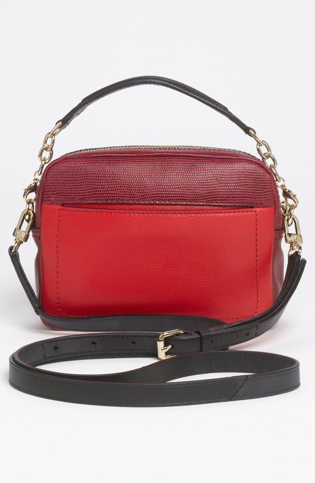 Alternate Image 4  - Diane von Furstenberg 'Milo - Mini' Lizard Embossed Crossbody Bag (Online Only)