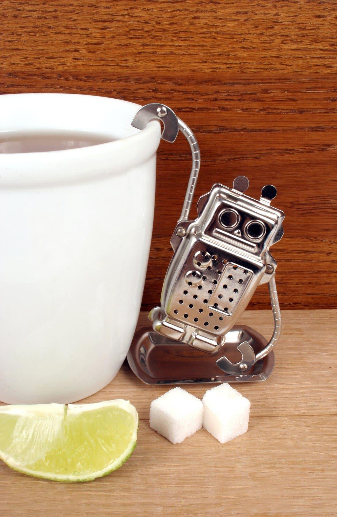 Alternate Image 3  - Kikkerland Design Robot Tea Infuser