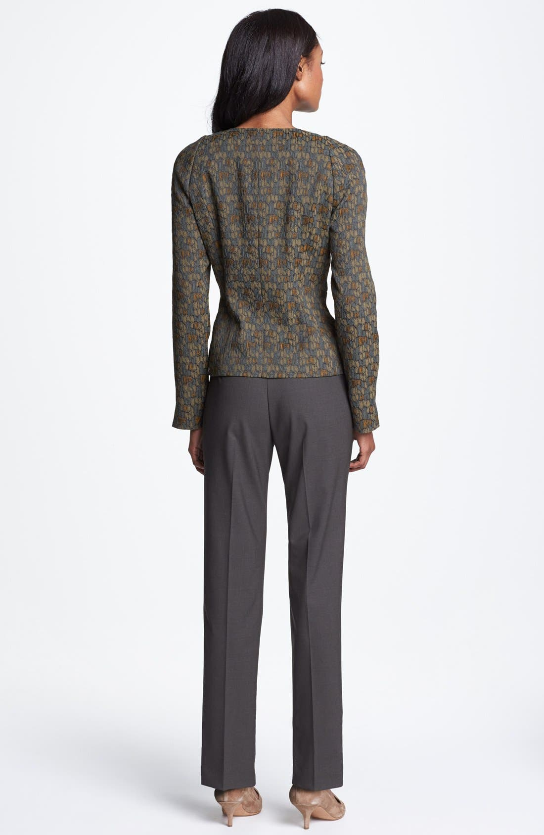 Alternate Image 5  - Lafayette 148 New York 'Trudy' Jacquard Jacket