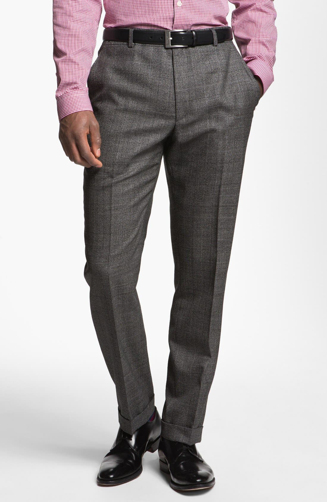 Alternate Image 5  - Paul Smith London Slim Fit Plaid Wool Suit