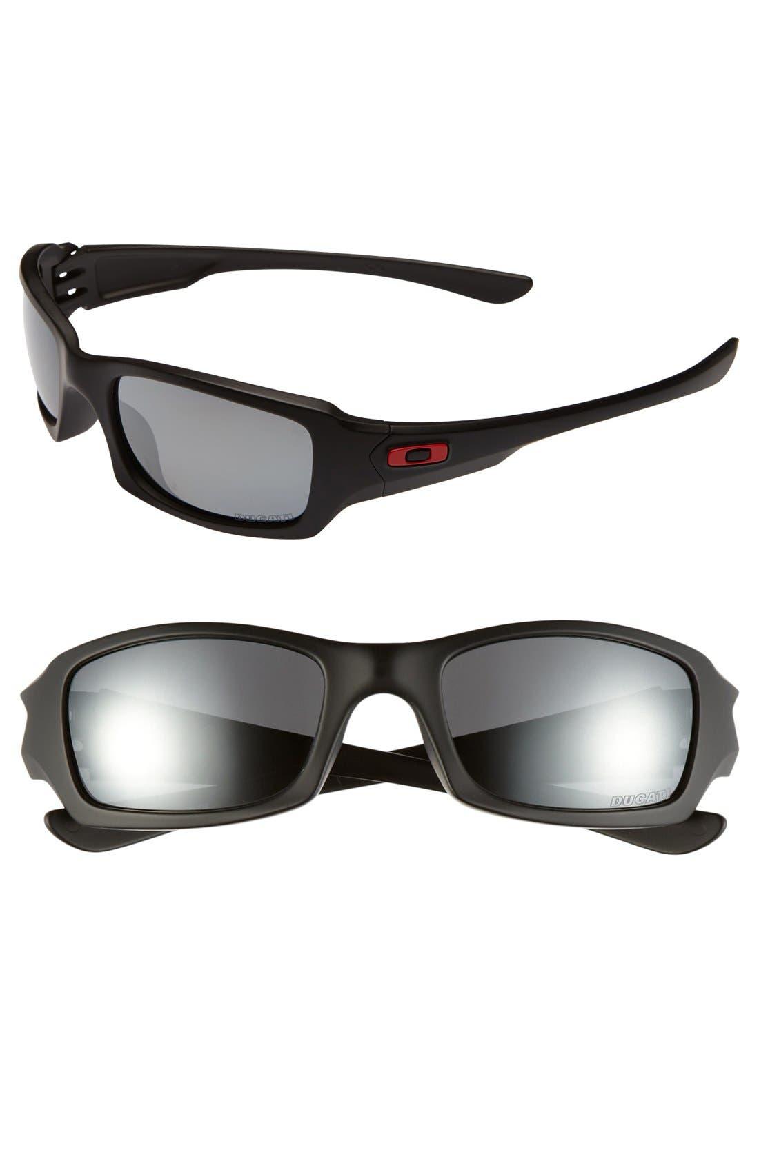 Main Image - Oakley 'Ducati - Fives Squared' 54mm Polarized Sunglasses