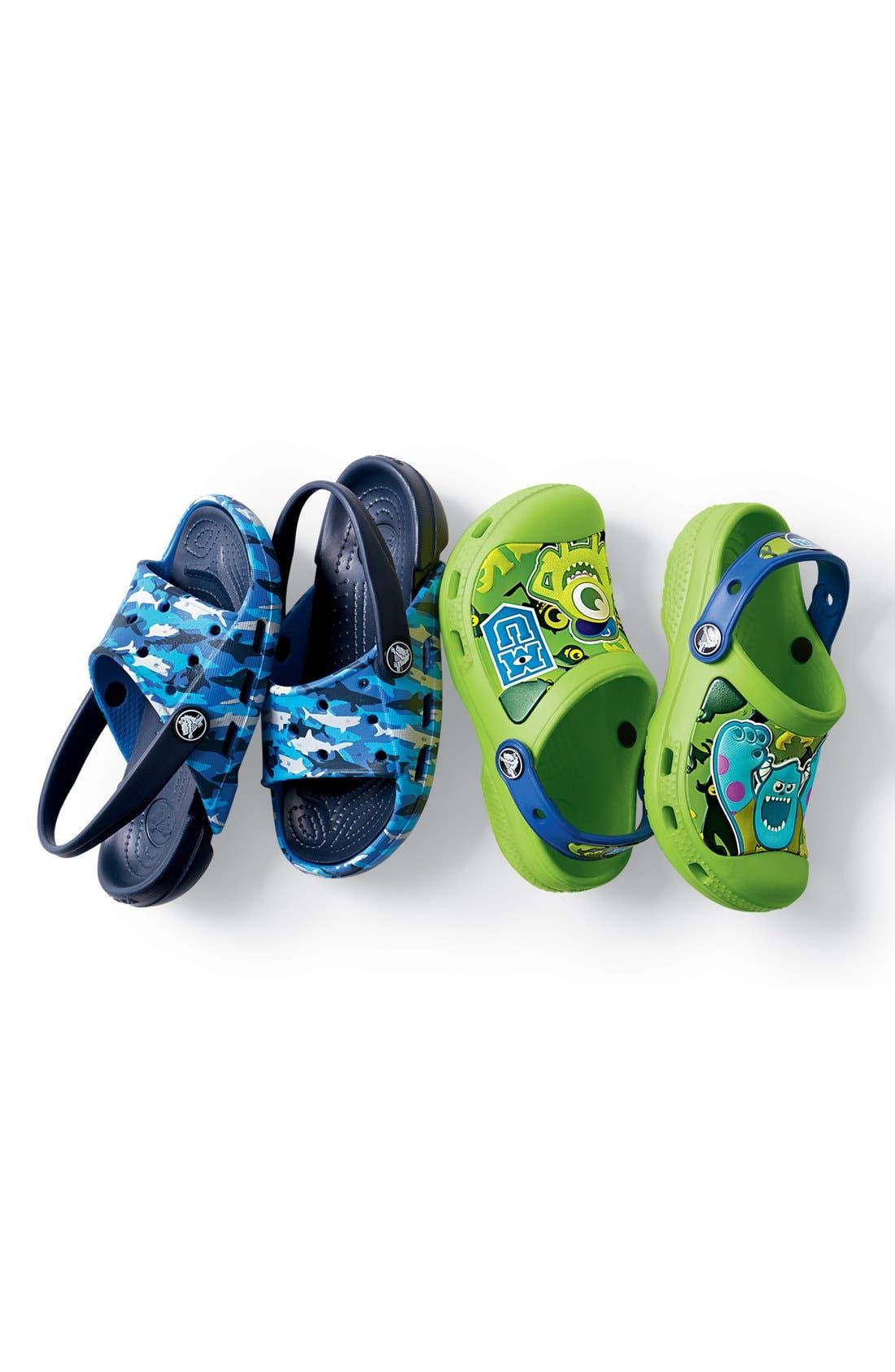 Alternate Image 5  - CROCS™ 'Electro' Sandal (Walker, Toddler & Little Kid)