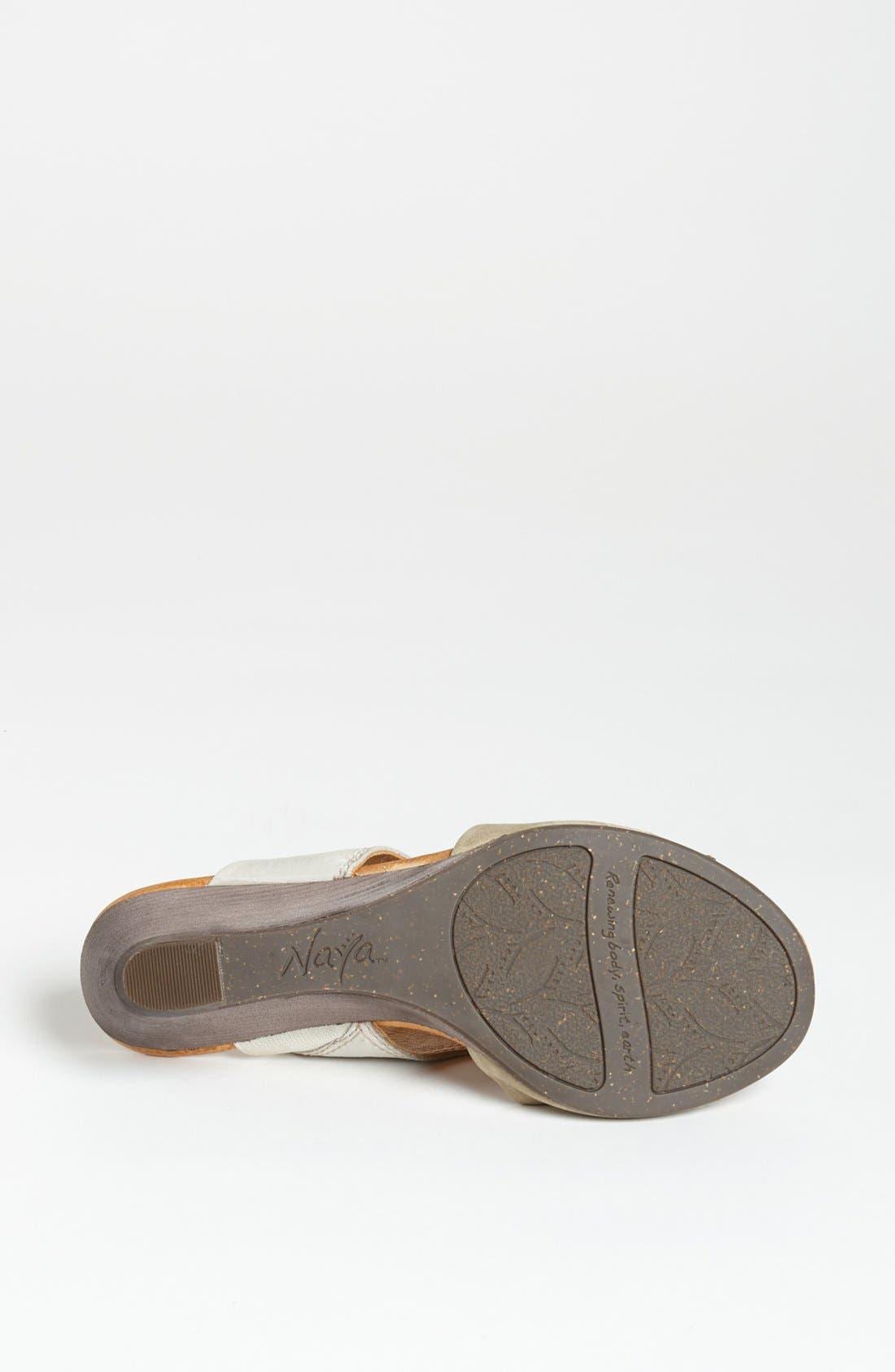 Alternate Image 4  - Naya 'Fabiana' Sandal (Online Only)