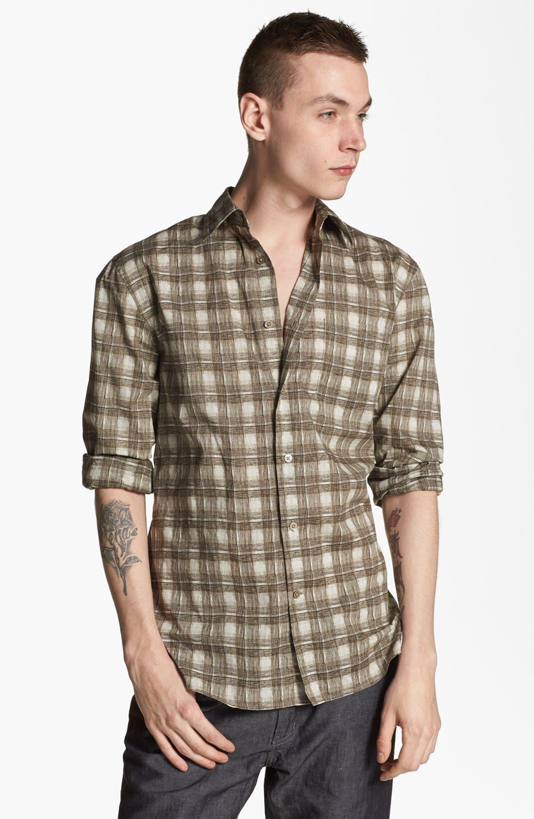 Alternate Image 1 Selected - John Varvatos Star USA Regular Fit Sport Shirt