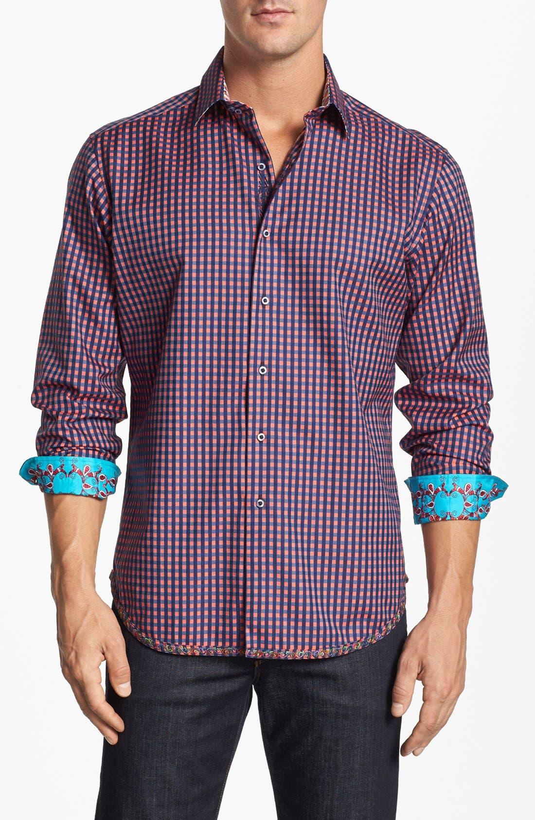 Alternate Image 1 Selected - Robert Graham 'Garrison' Regular Fit Sport Shirt