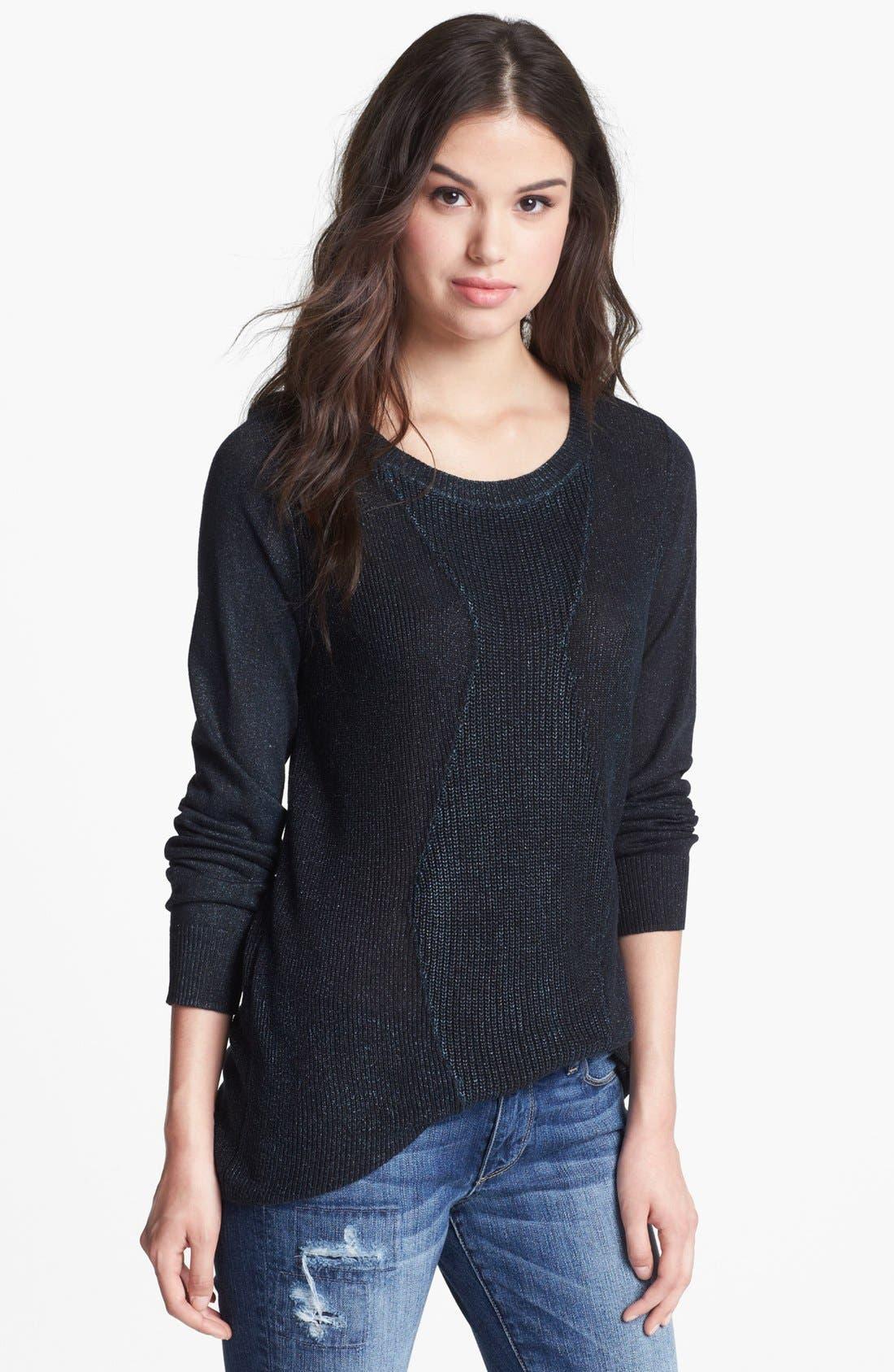 Alternate Image 1 Selected - Trouvé Metallic Sweater