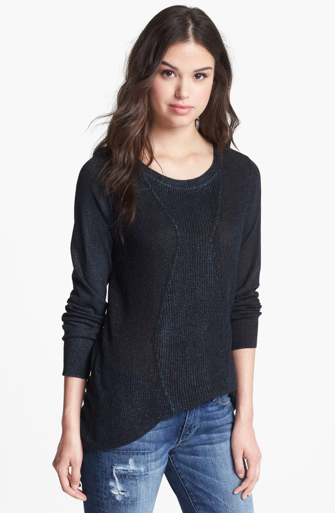 Main Image - Trouvé Metallic Sweater