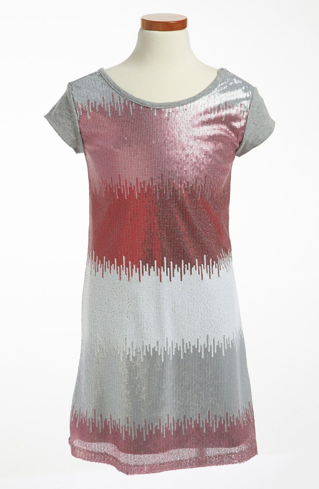 Main Image - Pippa & Julie Sequin Dress (Big Girls)
