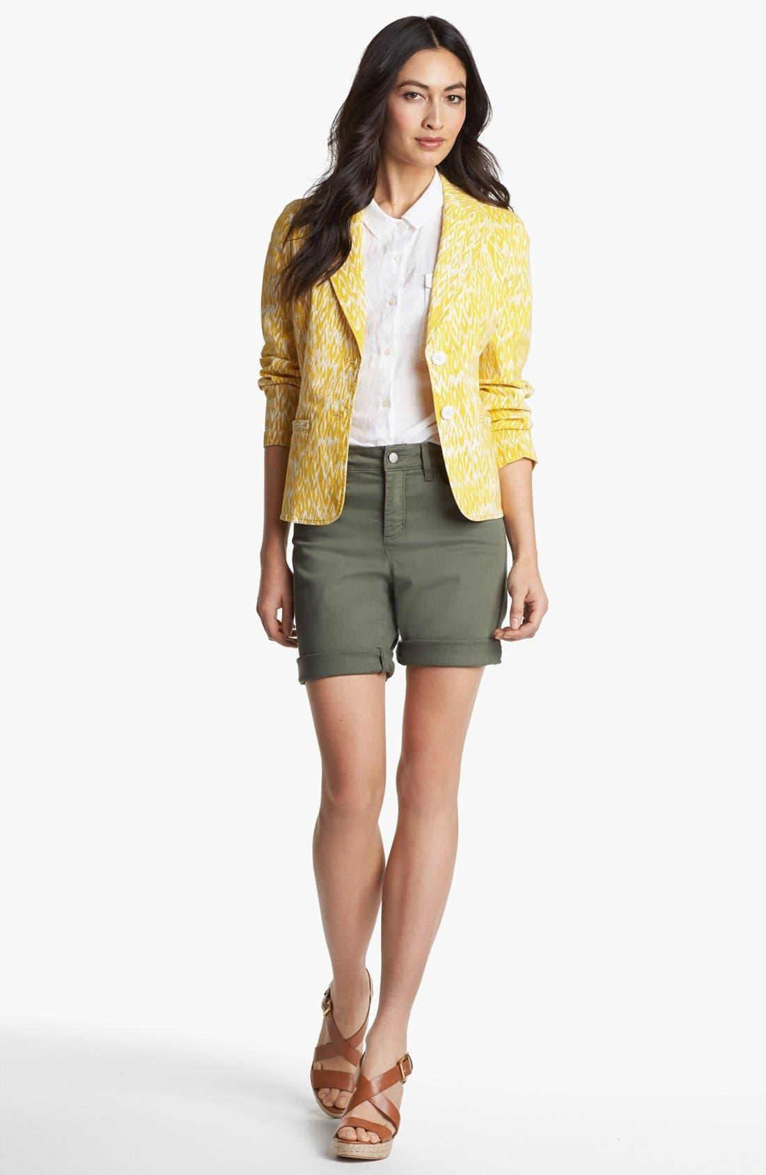 Alternate Image 2  - Amber Sun 'Megan' Print Blazer