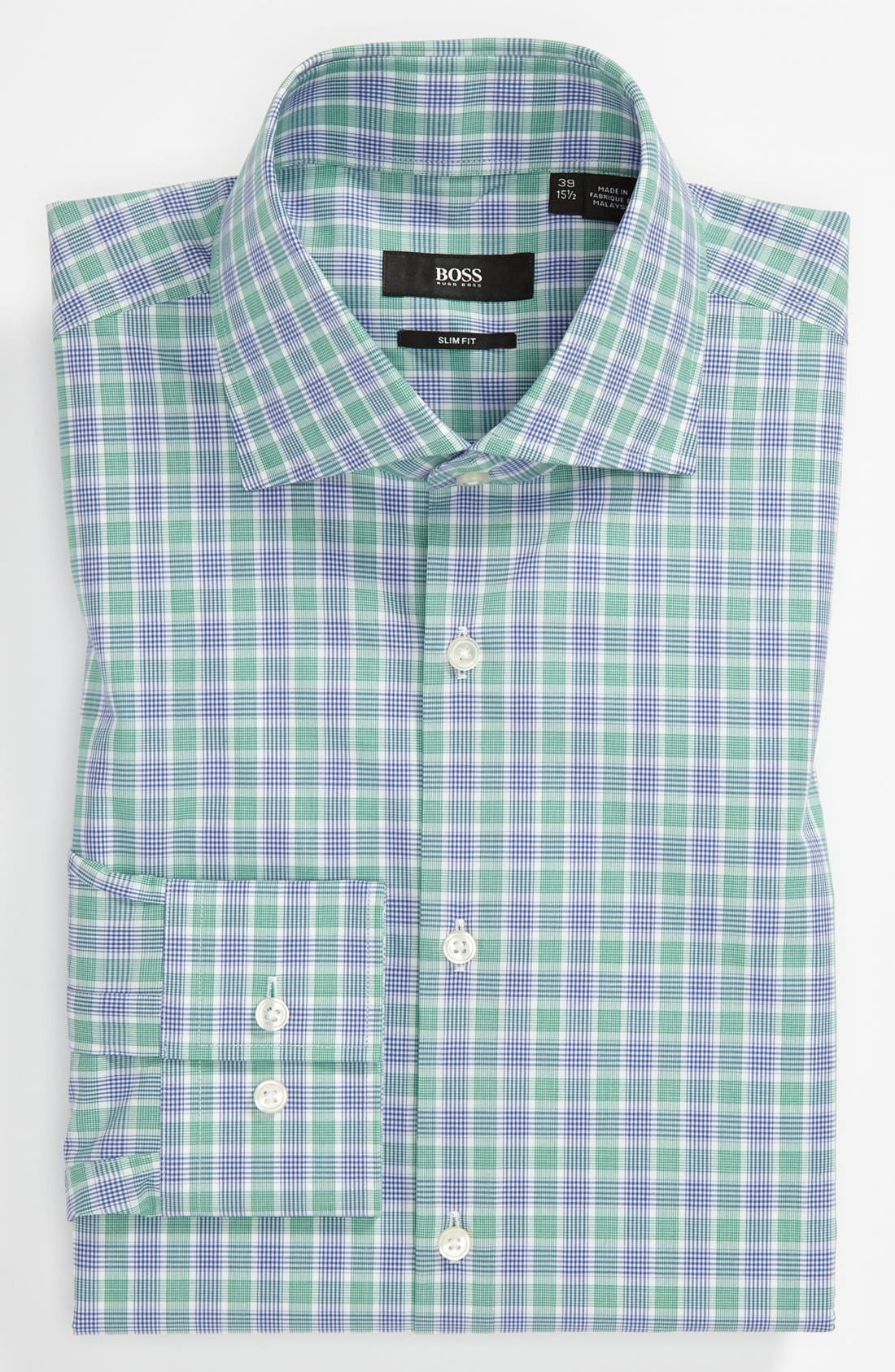 Main Image - BOSS HUGO BOSS Slim Fit Dress Shirt