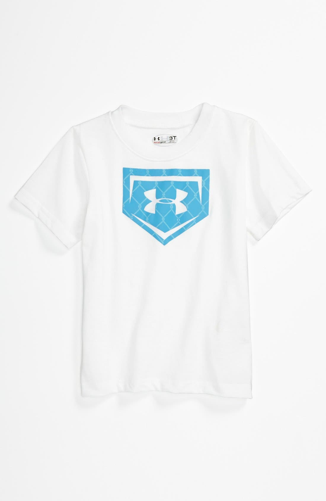 Alternate Image 1 Selected - Under Armour Logo T-Shirt (Toddler)