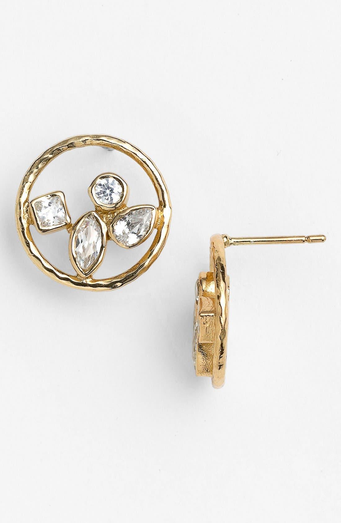Main Image - Melinda Maria 'Erica' Cluster Stud Earrings