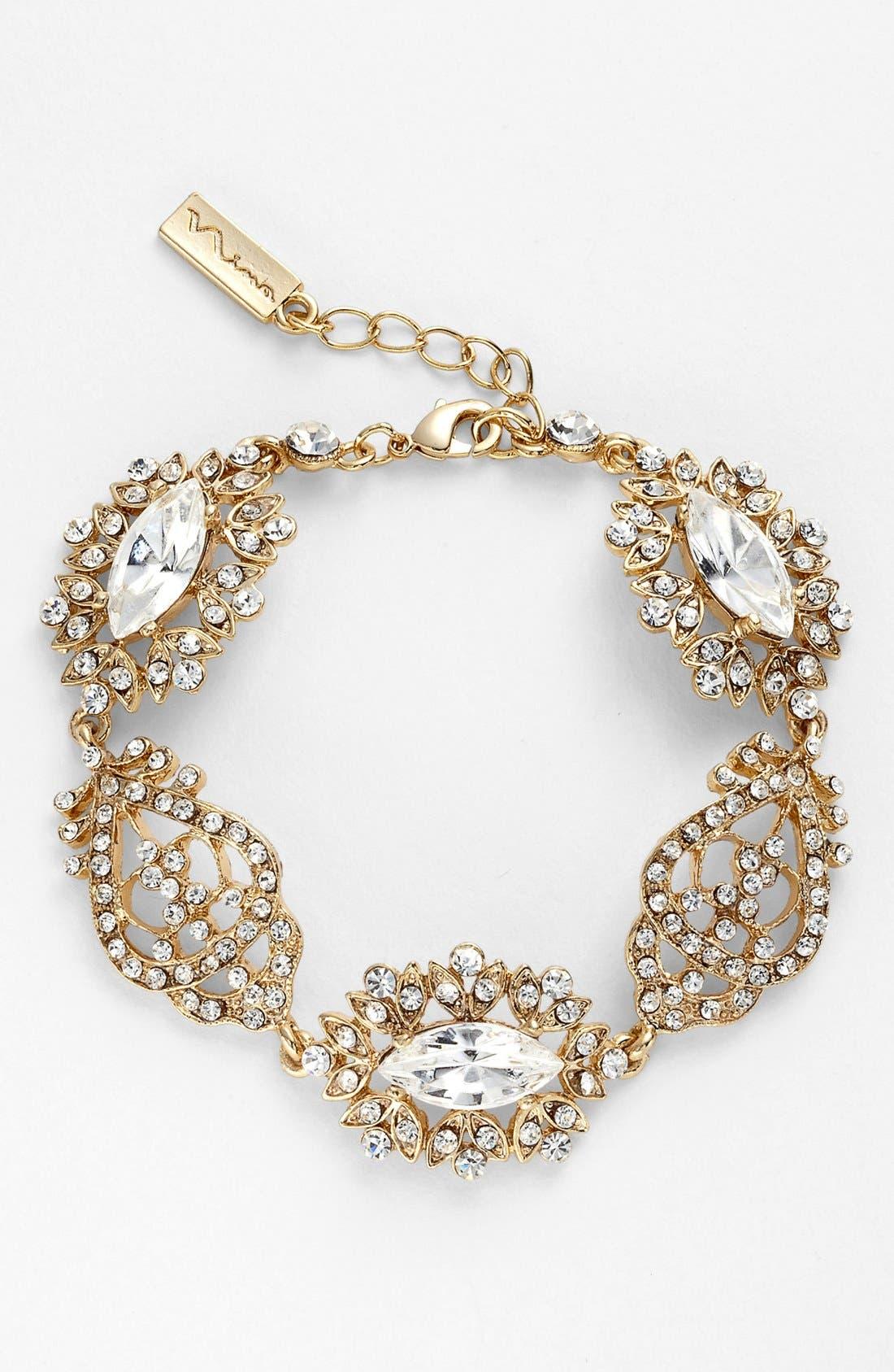 Alternate Image 1 Selected - Nina 'Chantal' Pavé Crystal Bracelet