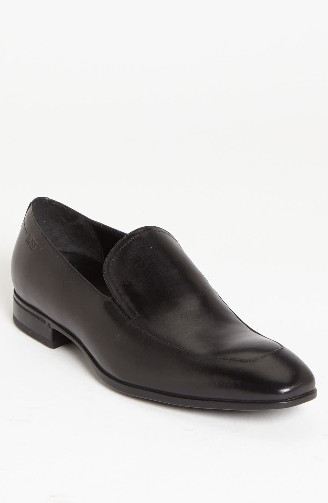 Main Image - BOSS HUGO BOSS 'Varmons' Apron Toe Loafer (Men)