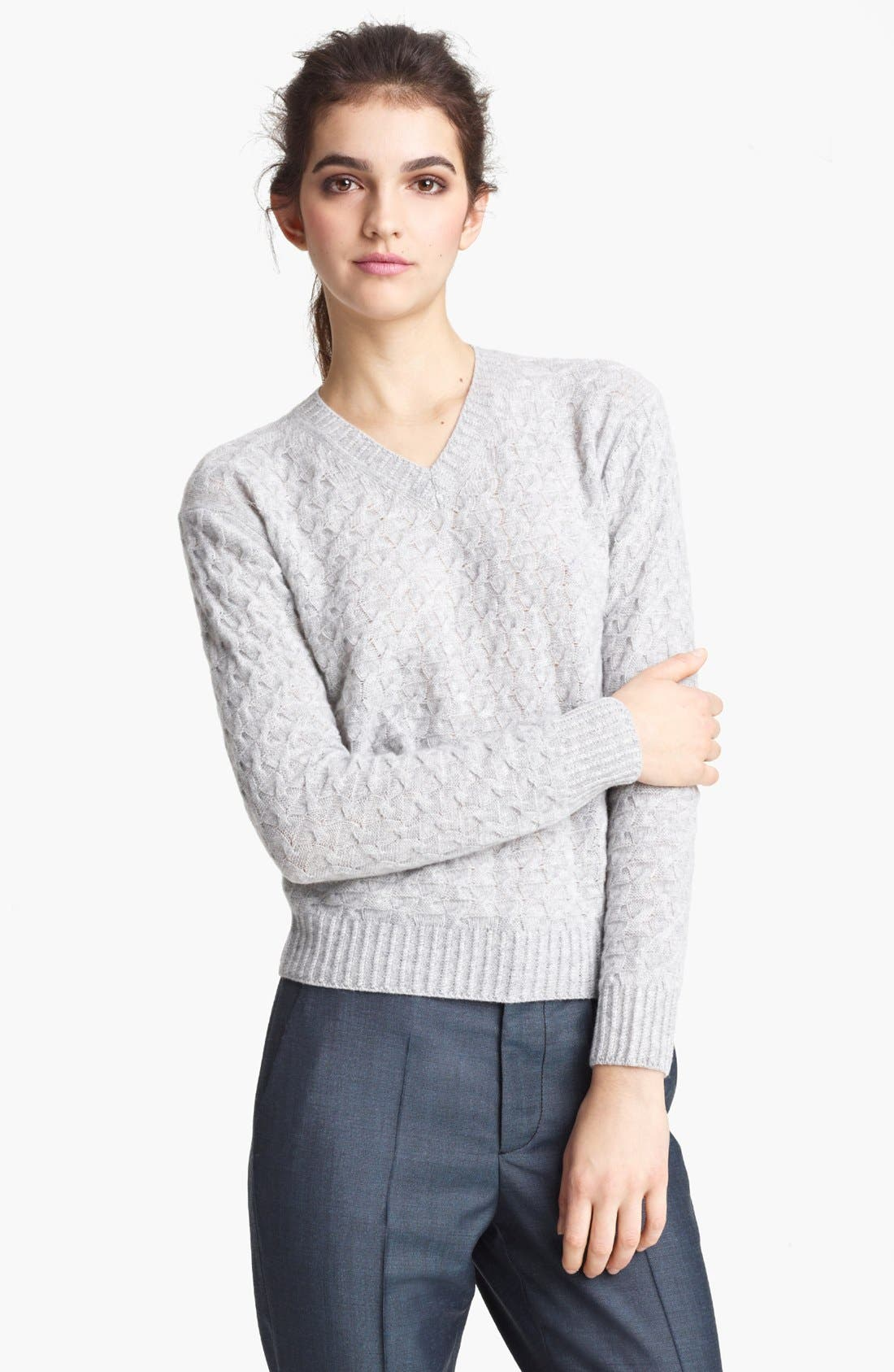 Alternate Image 1 Selected - MARC JACOBS V-Neck Cashmere Sweater