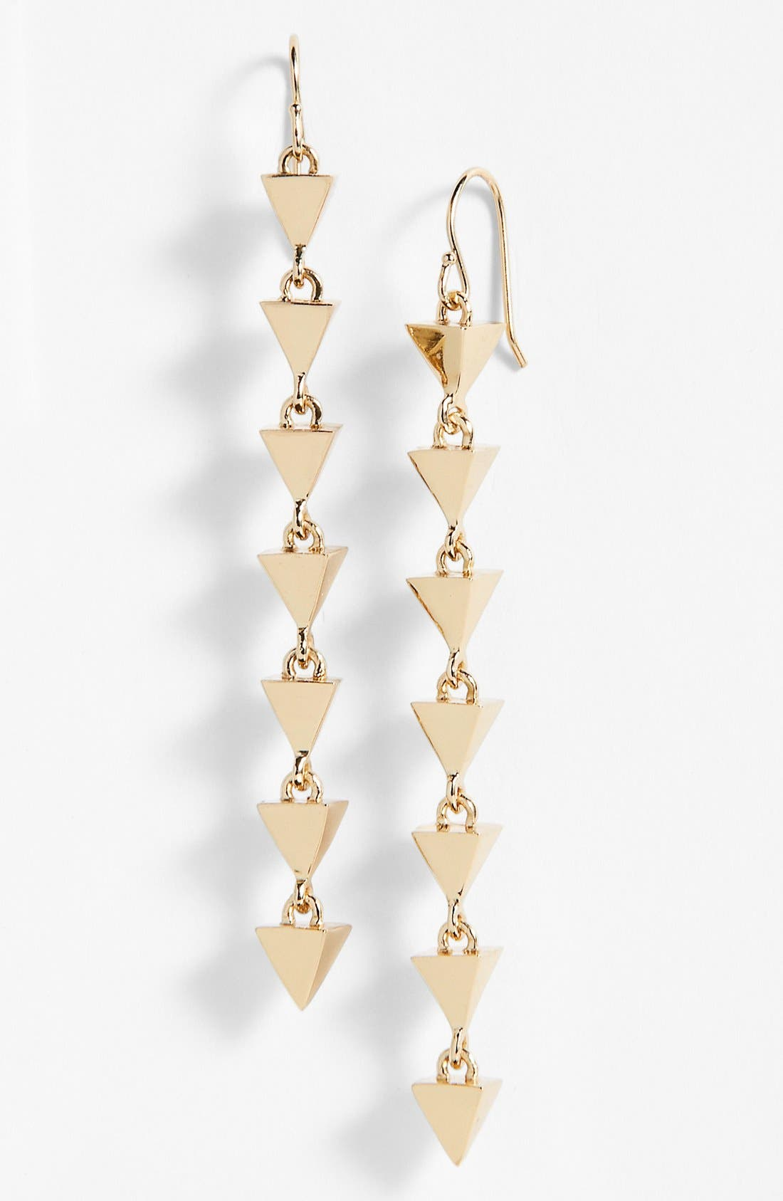 Alternate Image 1 Selected - Melinda Maria 'Pyramid' Linear Earrings