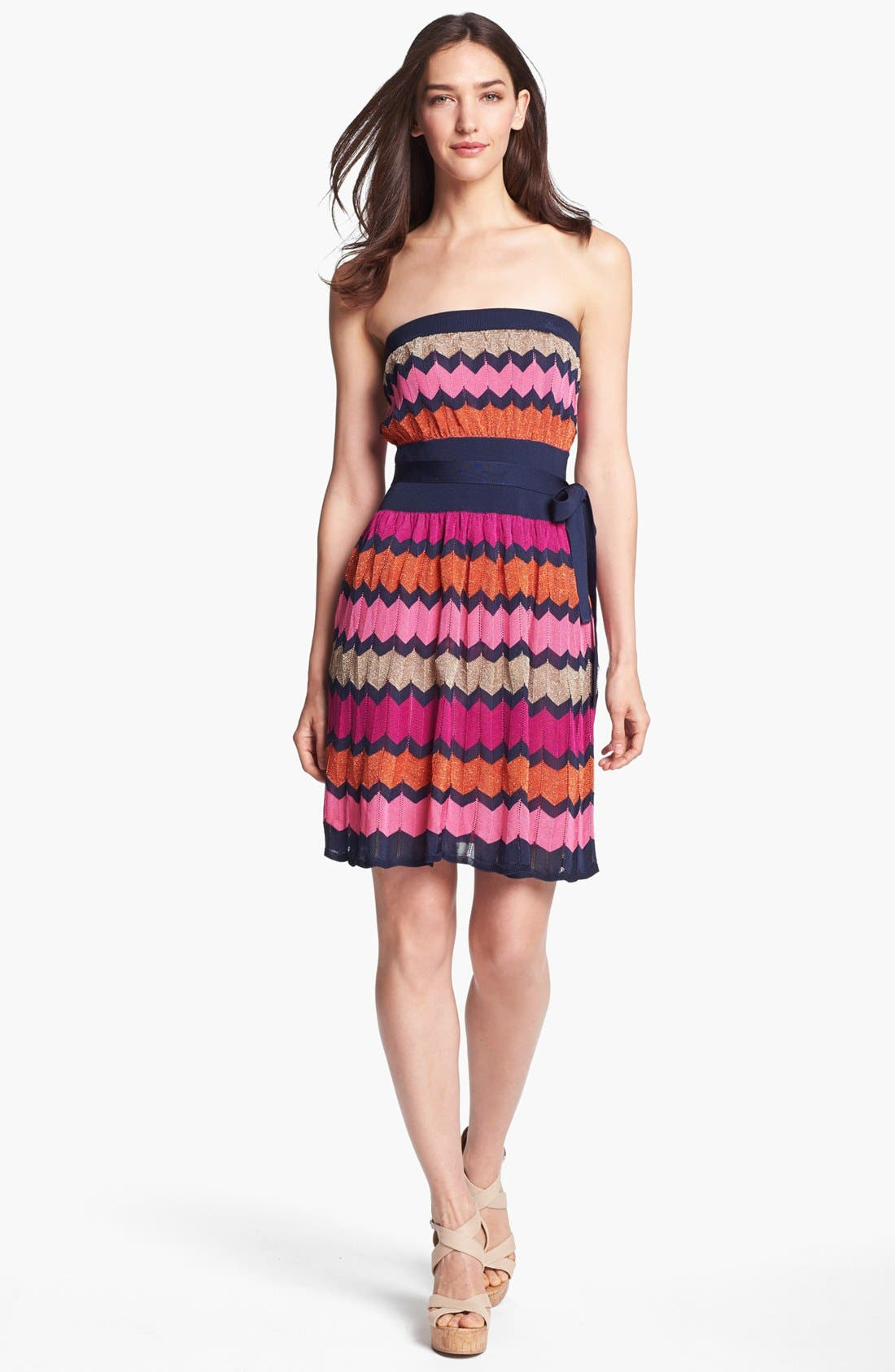 Alternate Image 1 Selected - Laundry by Shelli Segal Strapless Knit Dress